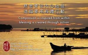 Kewelas asihan harus terbangkitkan dari sanubari, menciptakan berkah harus melalui tindakan nyata.